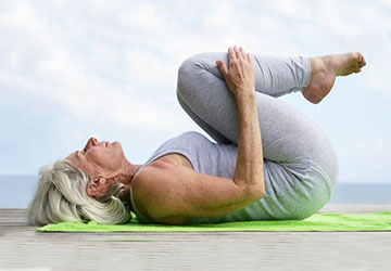 Seniors yoga fit